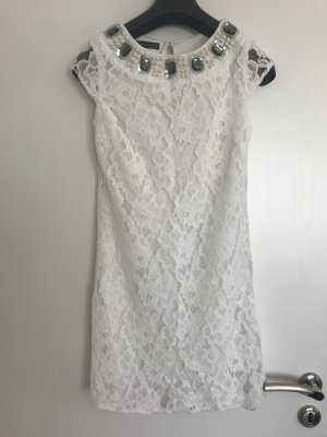 Atmosphere Lace Dress white