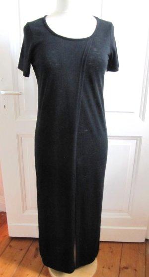 10 Days Maxi abito nero Tessuto misto