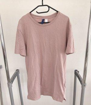 H&M Long Shirt rose-gold-coloured