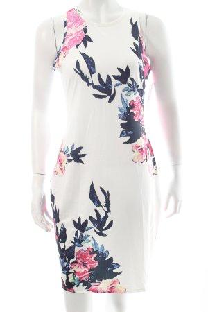 Wunderschönes leichtes Sommerkleid Trägerkleid mit floralem Muster Gr.L 38/40