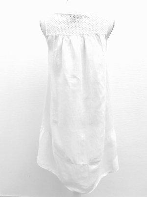 Wunderschönes Leinenkleid von Carla Conti, Gr. S, weiß