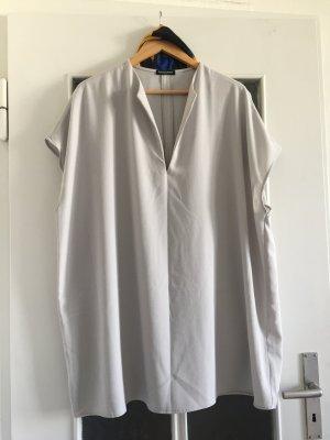 American Apparel Blusa de túnica gris claro
