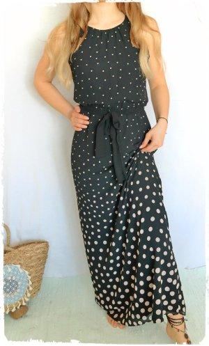 wunderschönes Maxi Kleid Dots