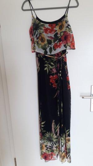 Wunderschönes Maxikleid mit Blumenmuster von Rinascimento, Größe 36