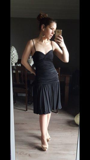 Wunderschönes Midikleid von Vera Mont Gr 38 schwarz kleine Schwarze Minikleid Abendkleid Kleid