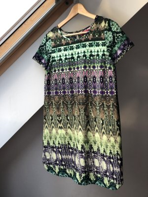 Boohoo Hippie Dress multicolored