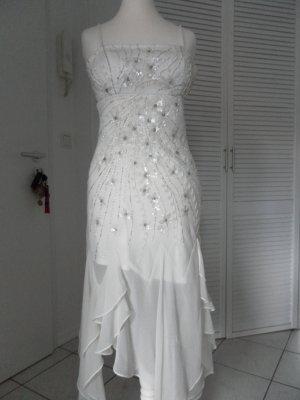 **Wunderschönes neues, weisses, verziertes Kleid von APART! *Gr. 34**