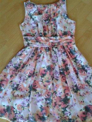 Wunderschönes Party Cocktail Kleid von SWING Blütendruck Größe 42