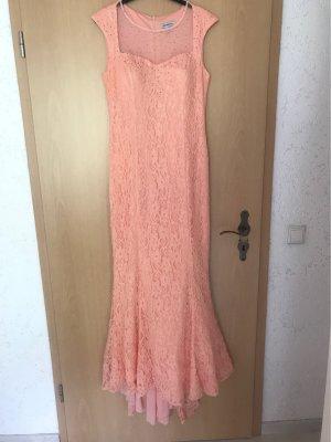Wunderschönes Pinkfarbiges-Kleid mit Mustern