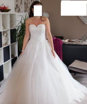 Wunderschönes Prinzessinnen Brautkleid Gr. 36 !!WIE NEU!!