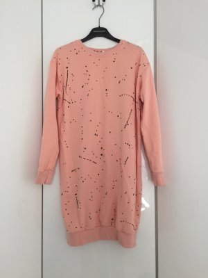 Flam Mode Paris Sweater Dress light pink-black