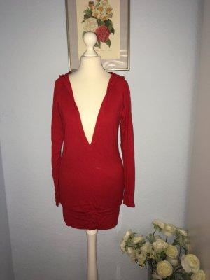 Tunic Dress dark red