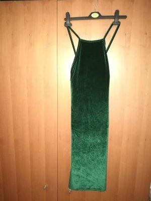 Wunderschönes Samtkleid, grün