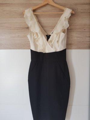 wunderschönes schwarz-weißes Kleid