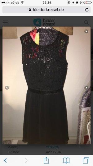 Wunderschönes Schwarzes Cocktail Kleid / Abiball