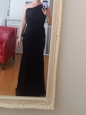Wunderschönes schwarzes langes Abendkleid Gr. 36