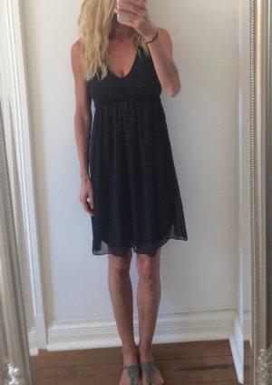 wunderschönes schwarzes Sommer Kleid von VERO MODA mit Punkten * Gr. M