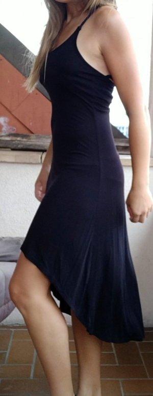 Wunderschönes schwarzes Sommerkleid / Strandkleid (hinten länger) Gr. 40