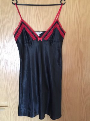 Negligee black-red polyester