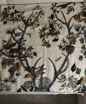 Longchamp Zijden doek veelkleurig
