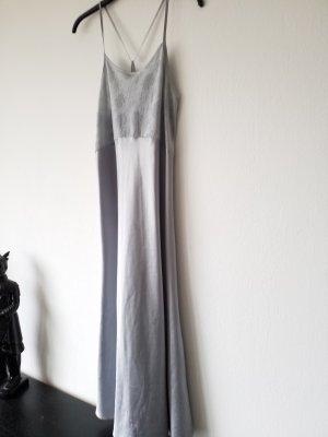 wunderschönes silbernes Negligee / Nachthemd Unterwäsche