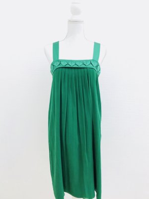 Wunderschönes Sommerkleid aus Seide von Steffen Schraut, Gr. 36, grün