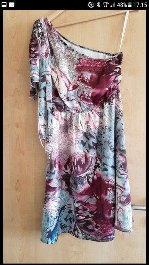 Wunderschönes Sommerkleid mit floralem Muster letzte Preissenkung