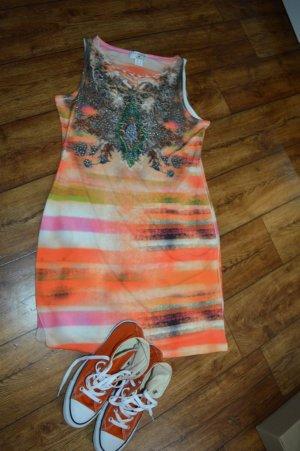 Wunderschönes Sommerkleid viel Strass Gr. 42 Neu von Rick Cardona