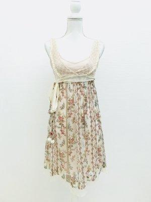 Wunderschönes Sommerkleid von Twin Set Simona Barbieri aus Seide, Gr. XS
