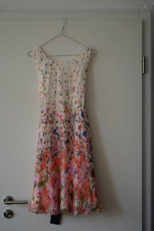 Wunderschönes Sommerseidenkleid von Max&Co, passt Größe 38-42