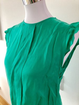 Zara Off the shoulder top munt-groen