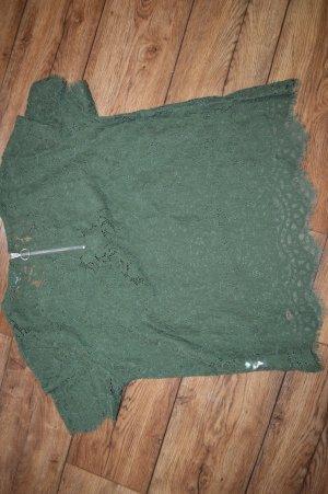 Wunderschönes Spitzen Shirt von Pimkie Gr. 42