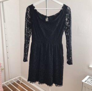 Zara Vestido de encaje negro