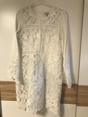Sportalm Kanten jurk wit