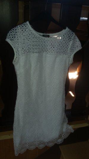 Yessica Vestido de encaje blanco Poliéster