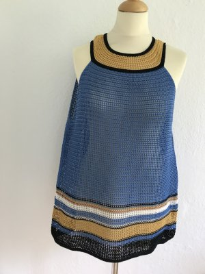Missoni Top a uncinetto multicolore Cotone