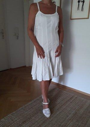wunderschönes Trägerkleid in weiß, Gr. 38 NEU !!!