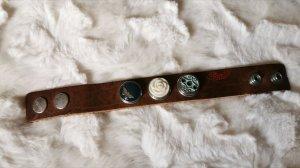 Noosa Leather Bracelet multicolored