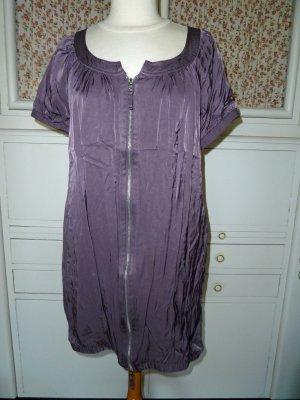 Vila vestido de globo lila grisáceo Viscosa