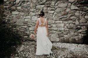 Wunderschönes Vintage Brautkleid von Rembo Styling Gr. 36/38