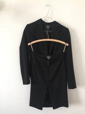 Mexx Traje para mujer negro tejido mezclado