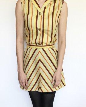 Wunderschönes Vintagehemdkleid im 70ties Style mit Gürtel