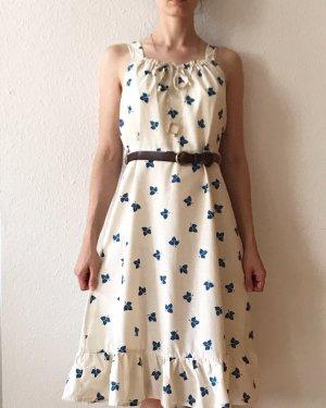 Vintage Flounce Dress multicolored cotton