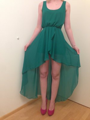 High Low Dress green-grass green
