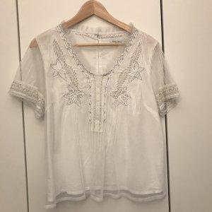 Wunderschönes weißes Blusenshirt