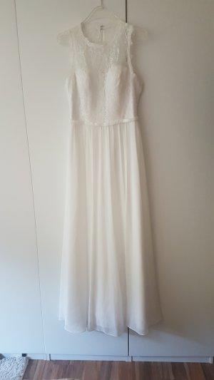 wunderschönes weißes Kleid