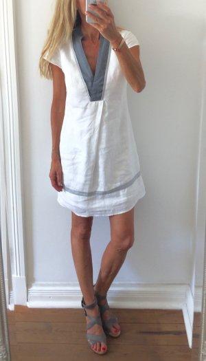 wunderschönes weißes Leinenkleid von PROMOD * Gr. 36 S