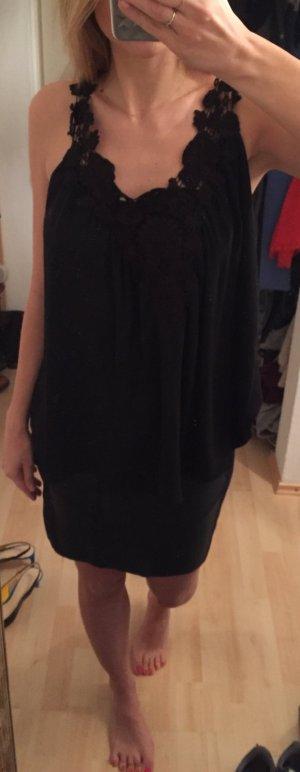 Zara Basic Top negro