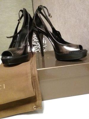 gucci sandalen g nstig kaufen second hand m dchenflohmarkt. Black Bedroom Furniture Sets. Home Design Ideas