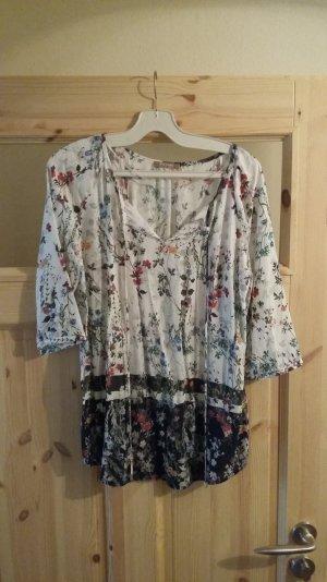 Wundervolle stylische Bluse mit buntem Blumen Muster von Orsay in Gr. 36